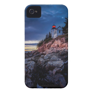 Twilight Over Bass Harbor Lighthouse, Acadia iPhone 4 Cover