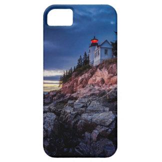 Twilight Over Bass Harbor Lighthouse, Acadia iPhone SE/5/5s Case