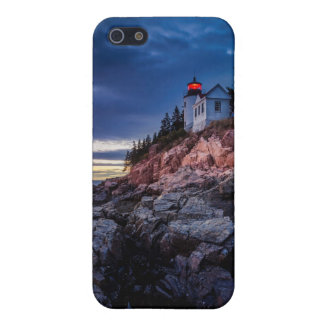 Twilight Over Bass Harbor Lighthouse, Acadia iPhone SE/5/5s Cover