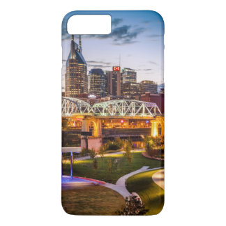 Twilight over Cumberland Park and downtown iPhone 8 Plus/7 Plus Case