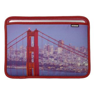 Twilight Over The Golden Gate Bridge MacBook Air Sleeve
