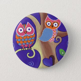 Twilight Owls Button