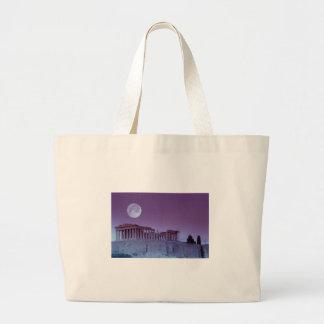 Twilight Parthenon Canvas Bags