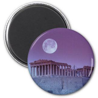 Twilight Parthenon Fridge Magnet
