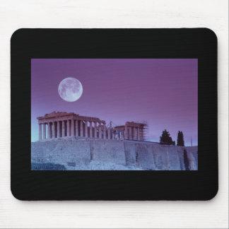 Twilight Parthenon Mouse Pad