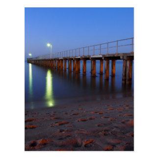 Twilight Pier Postcard