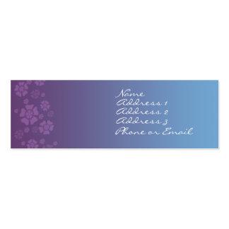 Twilight Posies Business Card