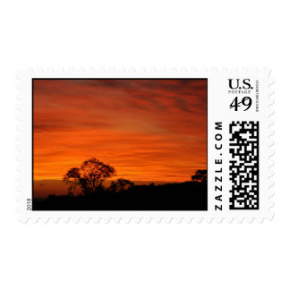 twilight postage stamp