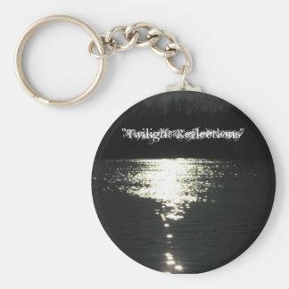 Twilight Reflections Keychain