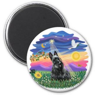Twilight - Scottish Terrier Refrigerator Magnets