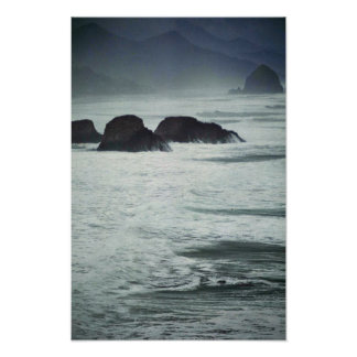 Twilight Sea Poster