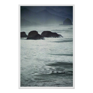 Twilight Sea Print