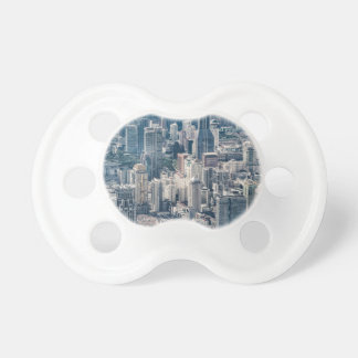 Twilight Shanghai city China aerial view Pacifier
