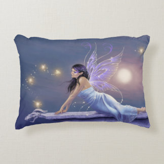 Twilight Shimmer Fairy Accent Pillow