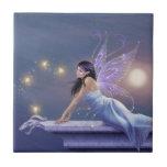 Twilight Shimmer Fairy Art Tile