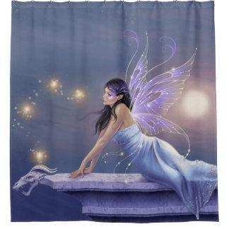 Twilight Shimmer Fairy Shower Curtain