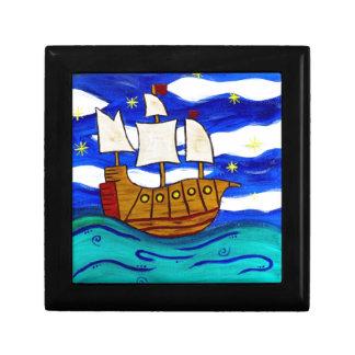 Twilight Ship Jewelry Box