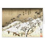 Twilight Snow at Asuka Hill Card