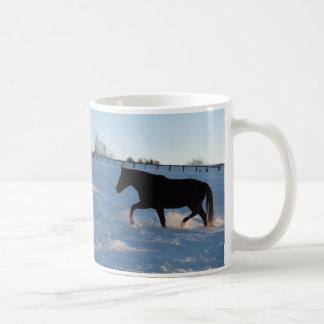 Twilight snow mug