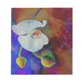 Twilight Solar Orchid Notepad