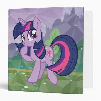 Twilight Sparkle 3 Ring Binder