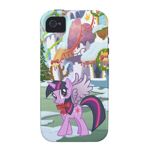 Twilight Sparkle Reindeer iPhone 4 Cover