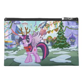 Twilight Sparkle Reindeer Travel Accessory Bag