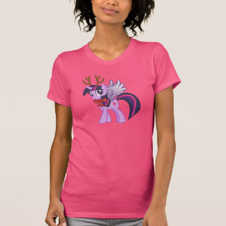 Twilight Sparkle Reindeer Tee Shirts