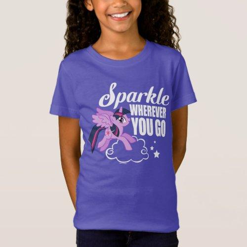 Twilight Sparkle  Sparkle Wherever You Go T_Shirt