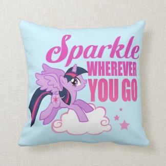 Twilight Sparkle | Sparkle Wherever You Go Throw Pillow