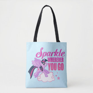 Twilight Sparkle | Sparkle Wherever You Go Tote Bag