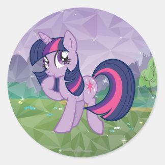 Twilight Sparkle Classic Round Sticker