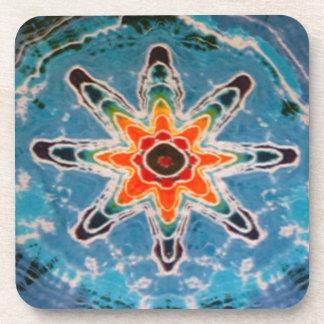 Twilight Star Tie Dye Drink Coaster
