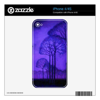 Twilight Stroll iPhone 4 Decal
