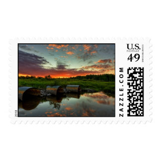 Twilight - Sunset Stamp