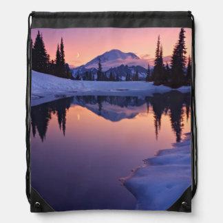 Twilight, Tarn and Crescent Moon Drawstring Bags
