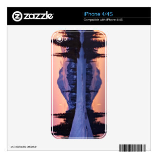 Twilight, Tarn and Crescent Moon iPhone 4 Skins