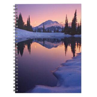 Twilight, Tarn and Crescent Moon Notebook