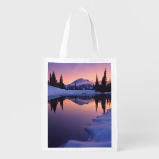 Twilight, Tarn and Crescent Moon Reusable Grocery Bag
