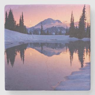 Twilight, Tarn and Crescent Moon Stone Coaster