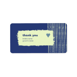 Twilight Thank You Gift Sticker