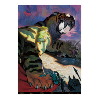 Twilight tiger poster