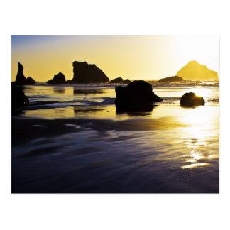 Twilight Time - Face Rock, Bandon, Oregon Post Cards
