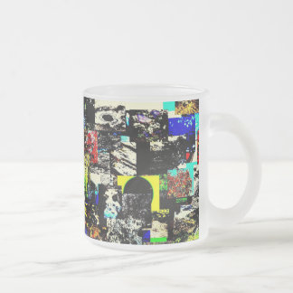 Twilight time Frosted 10 oz Frosted Glass Mug