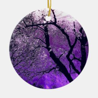 Twilight tree ornament