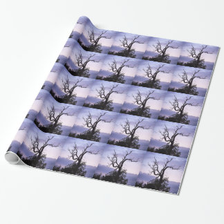Twilight Tree Wrapping Paper