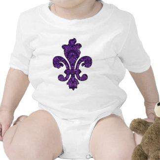 Twilight Violet Goth Baby Bodysuit