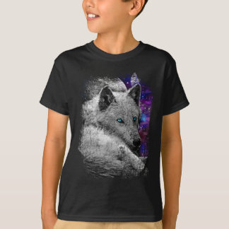 Twilight Wolf Moon Animals T-Shirt