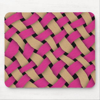 Twill Weave Mouse Pad