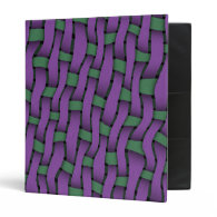 Twill Weave Vinyl Binders